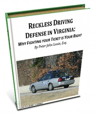 Does a Driving Ticket in Virginia affect my Driver's License