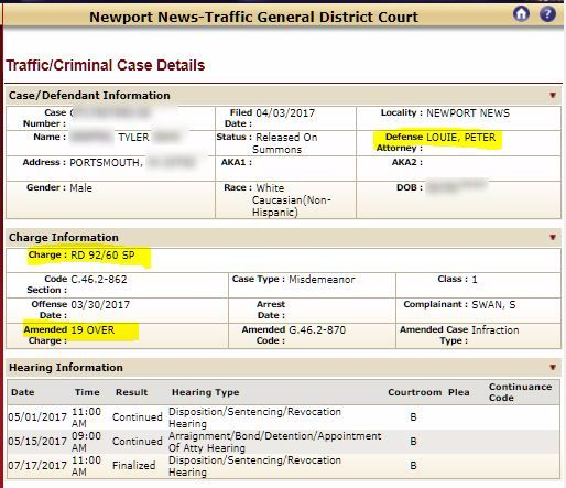 July 2017 Case Results: Hit and Run (Felony) avoided
